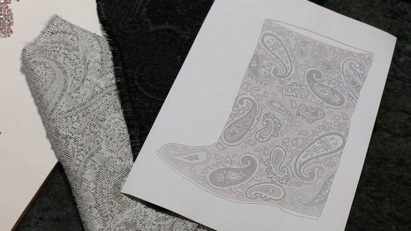 Auro Jewels Boot Sketch