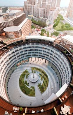 Television Centre aerial view