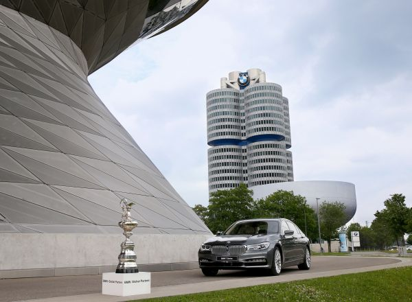 MUNICH, GERMANY - JUNE 19:  America's Cup Shooting for BMW on June 19, 2015 in Munich, Germany.  (Photo by Alexander Hassenstein/Getty Images  For BMW)