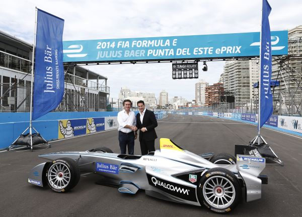 Bank Julius Baer will become the title sponsor of the Formula E Punta del Este ePrix
