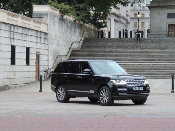Royal Range Rover Pic