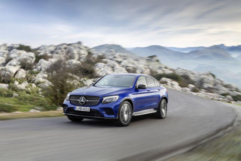 Start frei für das Mercedes-Benz GLC Coupé